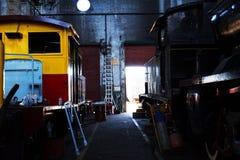 Μουσείο σιδηροδρόμων Στοκ εικόνα με δικαίωμα ελεύθερης χρήσης