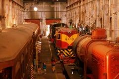 Μουσείο σιδηροδρόμων Στοκ φωτογραφία με δικαίωμα ελεύθερης χρήσης