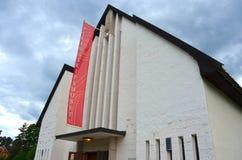 Μουσείο σκαφών Βίκινγκ στο Όσλο Στοκ Φωτογραφίες
