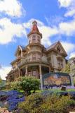Μουσείο σπιτιών Flavel σε Astoria, Όρεγκον στοκ φωτογραφία