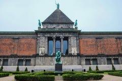 Μουσείο στην Κοπεγχάγη Δανία Στοκ εικόνα με δικαίωμα ελεύθερης χρήσης