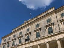Μουσείο στην πόλη της Κέρκυρας στο ελληνικό νησί της Κέρκυρας Στοκ εικόνες με δικαίωμα ελεύθερης χρήσης