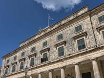 Μουσείο στην πόλη της Κέρκυρας στο ελληνικό νησί της Κέρκυρας Στοκ φωτογραφία με δικαίωμα ελεύθερης χρήσης