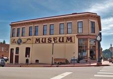 Μουσείο στο στο κέντρο της πόλης Victor, Κολοράντο στοκ εικόνες