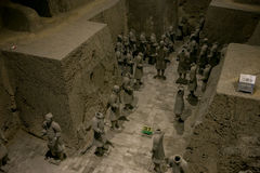 Μουσείο στρατού τερακότας, ΧΙ `, Κίνα Στοκ φωτογραφία με δικαίωμα ελεύθερης χρήσης