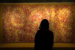 Μουσείο σύγχρονης τέχνης της Τεχεράνης κατά τη διάρκεια της άνοιξη Ιράν Μέση Ανατολή 2017 Στοκ Εικόνες