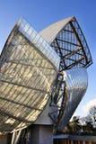 Μουσείο Σύγχρονης Τέχνης του ιδρύματος της Louis Vuitton Στοκ φωτογραφία με δικαίωμα ελεύθερης χρήσης