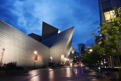 Μουσείο Τέχνης, Ντένβερ στοκ φωτογραφία
