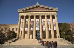 Μουσείο Τέχνης της Φιλαδέλφειας Στοκ Εικόνα