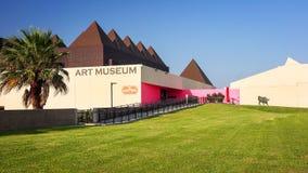 Μουσείο Τέχνης του νότιου Τέξας στο Corpus Christi, Τέξας Στοκ Εικόνες