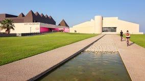 Μουσείο Τέχνης του νότιου Τέξας στο Corpus Christi, Τέξας Στοκ Εικόνα