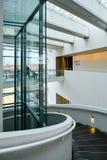 Μουσείο Τέχνης Aros - εσωτερικό σπειροειδές κλιμακοστάσιο, 3 Στοκ Εικόνες
