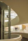 Μουσείο Τέχνης Aros - εσωτερικό σπειροειδές κλιμακοστάσιο Στοκ Φωτογραφία