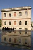 μουσείο της Αθήνας ακρόπ&om Στοκ εικόνα με δικαίωμα ελεύθερης χρήσης