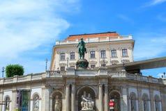 Μουσείο της Αλμπερτίνα στη Βιέννη Στοκ φωτογραφία με δικαίωμα ελεύθερης χρήσης