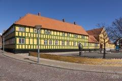 Μουσείο της ανατολικής Γιουτλάνδης σε Grenaa, Δανία Στοκ φωτογραφία με δικαίωμα ελεύθερης χρήσης