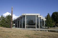 Μουσείο της ανθρωπολογίας σε UBC Στοκ Εικόνα