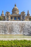 μουσείο της Βαρκελώνης τέχνης εθνικό στοκ εικόνες