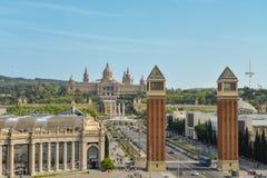 μουσείο της Βαρκελώνης & Στοκ Φωτογραφία