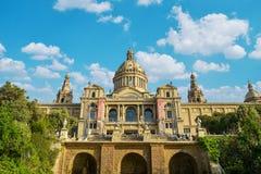 μουσείο της Βαρκελώνης & Στοκ Φωτογραφίες