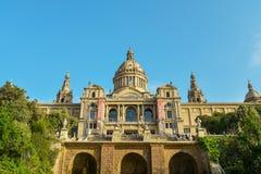 μουσείο της Βαρκελώνης & Στοκ Εικόνα