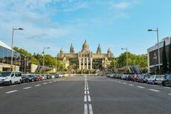 μουσείο της Βαρκελώνης & Στοκ Εικόνες