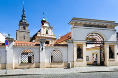 Μουσείο της θρησκευτικής τέχνης της επισκοπής του Πίλζεν, Plzen, τσεχικό repu Στοκ Φωτογραφίες