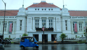 Μουσείο της Ινδονησίας τράπεζας στοκ εικόνα
