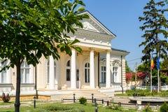 Μουσείο της ιστορίας Teodor Cincu σε Tecuci Στοκ εικόνα με δικαίωμα ελεύθερης χρήσης