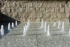 Μουσείο της Ρώμης Ara Pacis Founatins Στοκ εικόνα με δικαίωμα ελεύθερης χρήσης