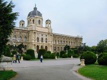 Μουσείο της φυσικής ιστορίας στη Βιέννη στοκ εικόνα με δικαίωμα ελεύθερης χρήσης
