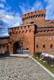 Μουσείο της Amber στο γερμανικό οχυρό Der Dona στοκ εικόνα με δικαίωμα ελεύθερης χρήσης