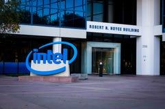 Μουσείο της Intel Στοκ φωτογραφία με δικαίωμα ελεύθερης χρήσης