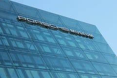 Μουσείο της Porsche, Στουτγάρδη, Γερμανία Στοκ εικόνα με δικαίωμα ελεύθερης χρήσης