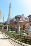 Μουσείο της Sophia Hagia, Τουρκία Στοκ εικόνα με δικαίωμα ελεύθερης χρήσης