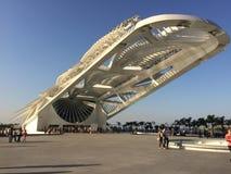 Μουσείο του αύριο - Ρίο ντε Τζανέιρο Στοκ Εικόνα