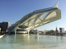 Μουσείο του αύριο - Ρίο ντε Τζανέιρο Στοκ φωτογραφία με δικαίωμα ελεύθερης χρήσης