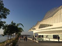 Μουσείο του αύριο - Ρίο ντε Τζανέιρο Στοκ φωτογραφίες με δικαίωμα ελεύθερης χρήσης