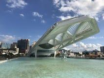 Μουσείο του αύριο - Ρίο ντε Τζανέιρο Στοκ Φωτογραφία