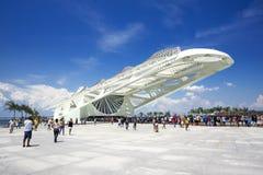 Μουσείο του αύριο (Museu do Amanha) στο Ρίο ντε Τζανέιρο, Βραζιλία Στοκ εικόνα με δικαίωμα ελεύθερης χρήσης