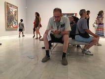 Μουσείο του Πικάσο, Βαρκελώνη, Ισπανία Στοκ φωτογραφία με δικαίωμα ελεύθερης χρήσης