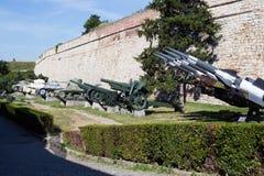 Μουσείο του στρατιωτικού εξοπλισμού στοκ εικόνα
