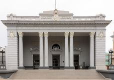 Μουσείο του Emilio Bacardi στο Σαντιάγο de Κούβα, Κούβα στοκ εικόνες