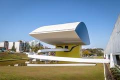 Μουσείο του Oscar Niemeyer - Curitiba, Παράνα, Βραζιλία Στοκ Εικόνα
