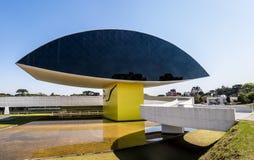 Μουσείο του Oscar Niemeyer - Curitiba, Παράνα, Βραζιλία Στοκ Φωτογραφία