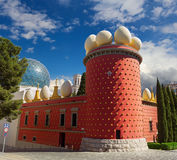 Μουσείο του Salvador Dali Στοκ φωτογραφία με δικαίωμα ελεύθερης χρήσης
