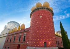 Μουσείο του Salvador Dali Figueres της Καταλωνίας Στοκ Εικόνα
