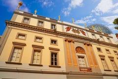 Μουσείο του Salvador Dali Figueres της Καταλωνίας Στοκ φωτογραφίες με δικαίωμα ελεύθερης χρήσης