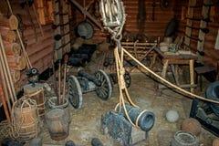 Μουσείο του Zaporozhye Cossacks Στοκ Φωτογραφία