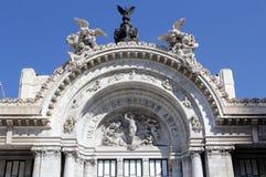 Μουσείο των Καλών Τεχνών στην Πόλη του Μεξικού Στοκ εικόνες με δικαίωμα ελεύθερης χρήσης